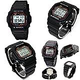 電波時計 警察官 公務員 自衛隊 G-SHOCK 20気圧防水 電波ソーラー デジタル腕時計 メンズ向(GW-M5610-1 GW-M5610BB-1 GW-M5610MR-4) (GW-M5610-1(スタンダードブラック))