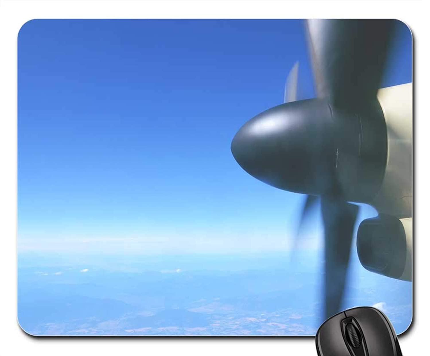Mouse Pads - Plane Propeller Airplane Aircraft Fly Flying