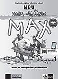 Der grüne Max 1 Neu - Arbeitsbuch 1 mit Audio-CD - Deutsch als Fremdsprache für die Primarstufe