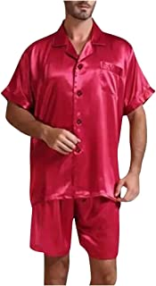 Pigiama da Uomo Tinta Unita Abbigliamento da casa Comodo Servizio a casa
