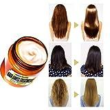 Sayla Masque Capillaire Traitement De La Racine des Cheveux, Salon De Coiffure 120 ML,Lissage des Cheveux Secs