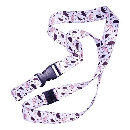 Schlüsselband Umhängeband mit hochwertigem, beidseitigem, vollfarbigem Druck, ideal für Schlüssel /kartenhalter/ MP3-Player / USB-Sticks...