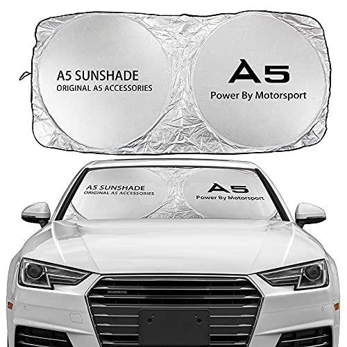 Parasol de Parabrisas Delantero Compatible con Audi A3 8P 8V A4 B8...