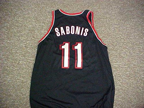 Arvydas Sabonis. Portland Trail Blazers Nike Black Game Jersey