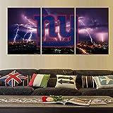 Poster und Drucke, Motiv: USA-Fußball, New York Giants,
