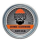 Beard Balm for Men by Rugged Roots - Hair Nourishing...