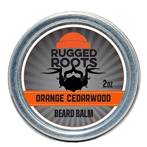 Beard Balm for Men by Rugged Roots - Hair Nourishing Beard Balm with...