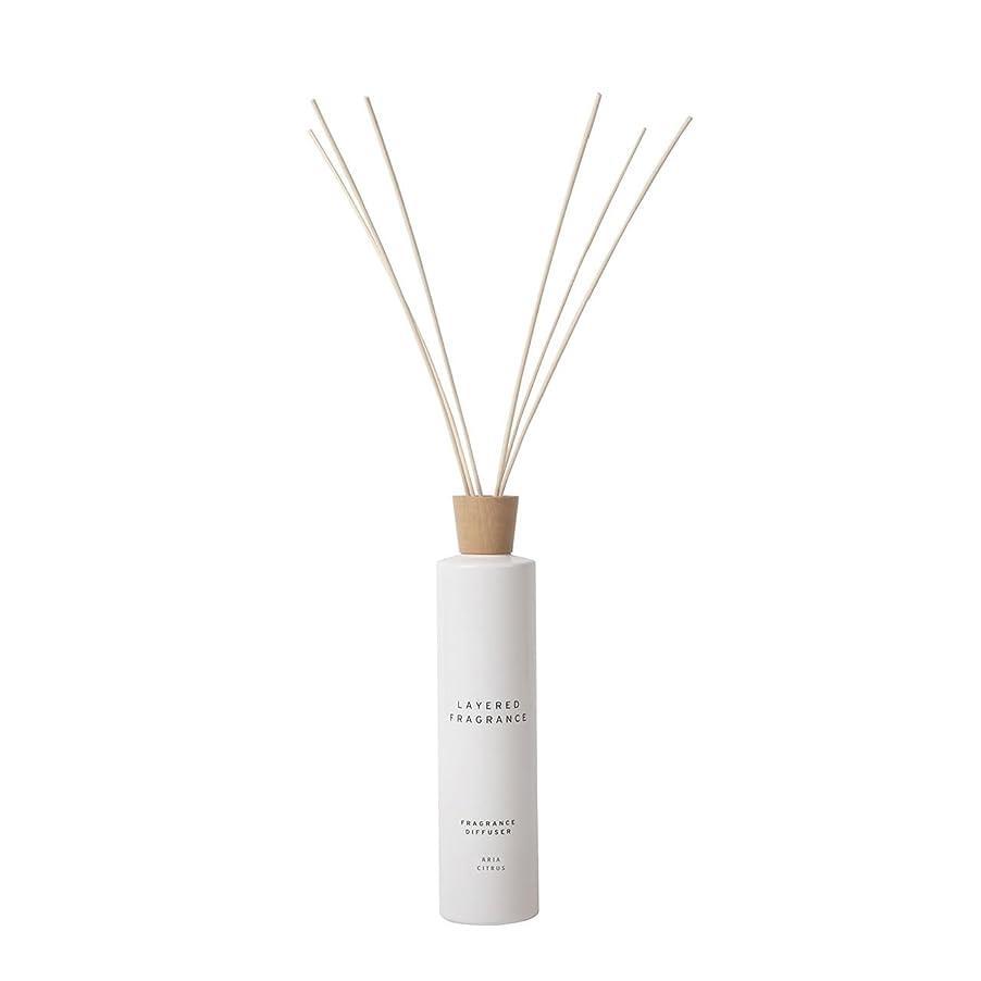 植物学者ヒューズクラス空間ごとに香りを使い分けて楽しむ レイヤードフレグランス フレグランスディフューザー アリアシトラス 500ml