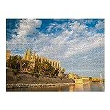 Cathedral Palma de Mallorca Big - 500 rompecabezas para adultos y niños a partir de 12 años, Multi