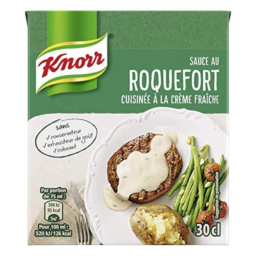 Knorr Pack Knorr Sauce In Roquefort Cuisina © E auf Vanillesoße Fraã®Che 30cl (6er-Set)