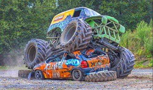 Monster Truck selber fahren - Car crashing in Lingen (Ems)
