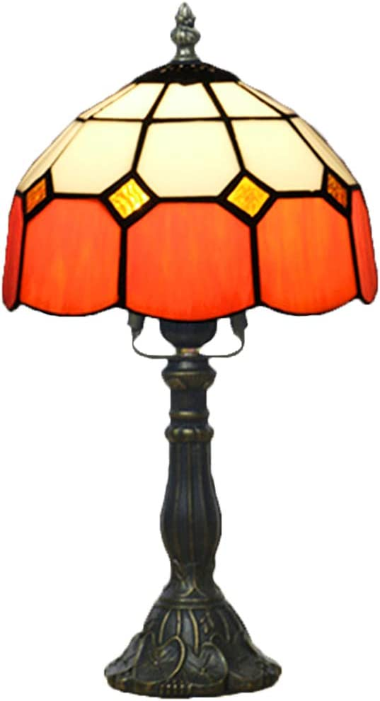 MZBZYU Finally resale start Tiffany Lamps Stained Glass Coffee Tal 15 Table Inch Lamp free