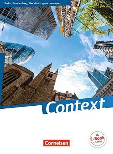 Context - Berlin/Brandenburg/Mecklenburg-Vorpommern - Ausgabe 2015: Schülerbuch: Kartoniert