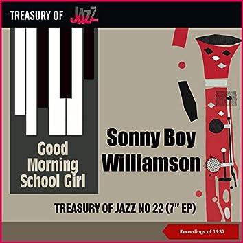 Good Morning School Girl - Treasury Of Jazz No. 22 (Recordings of 1937)