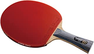 DHS Ping Pong Paddle 6002, Table Tennis Racket - Shakehand with LANDSON Rubber Protector
