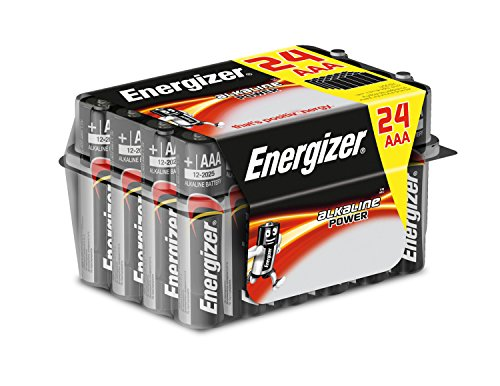Energizer AAA Batteries, Alkaline Power, 24 Family Pack