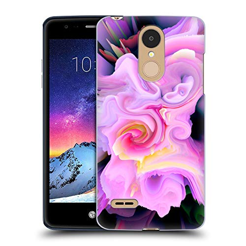 Head Case Designs Officially Licensed by Haroulita Romance Floral Glitch 2 Hard Back Case Compatible with LG K8 / K9 (2018)