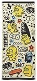 丸眞 フェイスタオル The Simpsons ザ・シンプソンズ 34×80cm ラクガキアート 綿100% 4935001200