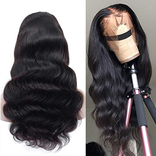 Megalook Lace Front Wigs Human Hair Wigs 20inch Body Wave 360 Lace Frontal Wigs Pre Plucked Hairline Human Hair Lace Front Wigs 150% Density