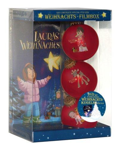 Lauras Weihnachtsstern (Weihnachts-Filmbox, Einzel-DVD, inkl. 3 hochwertiger Christbaumkugeln)