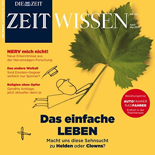 ZeitWissen April / Mai 2015 Titelbild