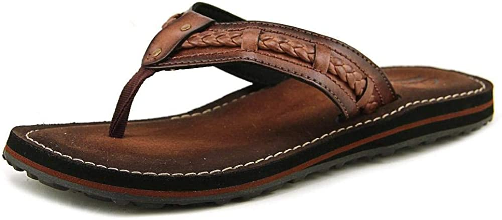 Clarks cheap Womens Fenner Nerice Leather Faux Outstanding Flip-Flops Thong
