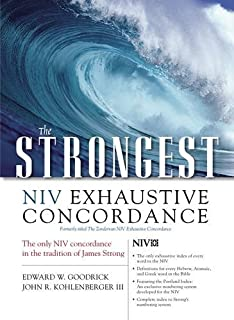 strongest niv exhaustive concordance online