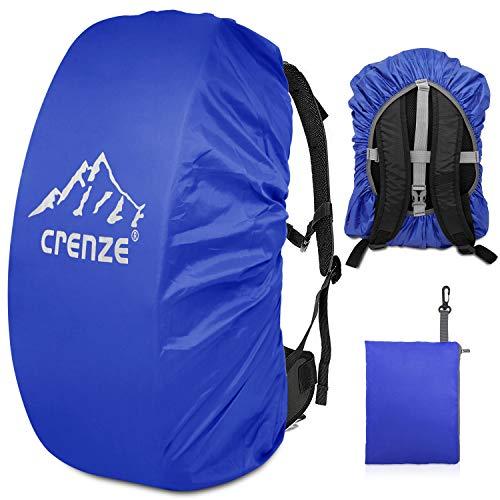 Crenze Regenschutz für Rucksäcke, 15-90L Wasserdichter Regenhülle Rucksack Cover für Wandern, Camping, Radfahren, Reisen und Schulranzen
