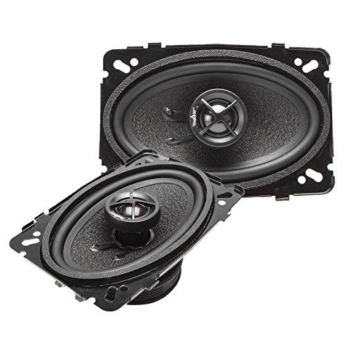 Skar Audio SK46 4' x 6' 120W 2-Way Performance Coaxial Car Speakers, Pair