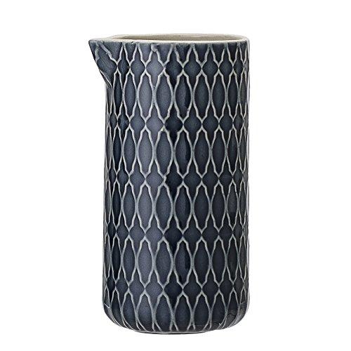 Bloomingville Milchkännchen Naomi, blau, Keramik