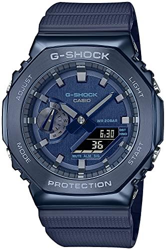 [カシオ] 腕時計 ジーショック メタルカバード GM-2100N-2AJF メンズ ブルー