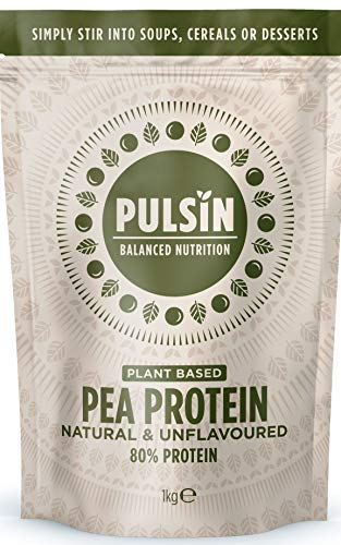 Pulsin Snacks 1kg Pea Protein Isolate Powder PI
