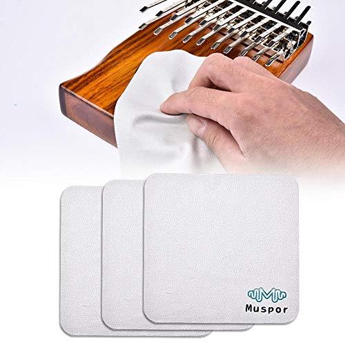 feiledi Trade Mikrofaser-Reinigungstücher, 6x6 für Musikinstrumente, Brillen, Telefone, Tablets, LCD-Bildschirme, Besteckreinigung