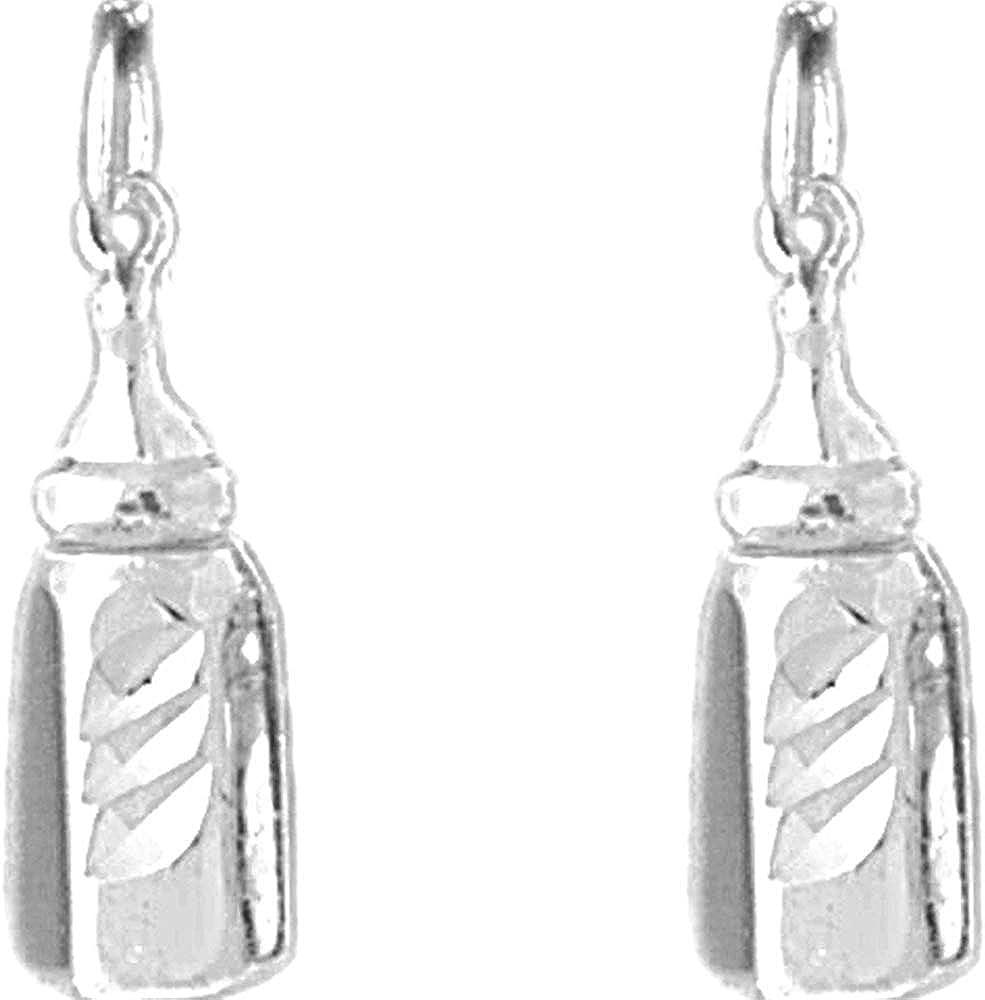Jewels Phoenix Mall Obsession Baby Charm Earrings Bargain sale Bott Silver Sterling