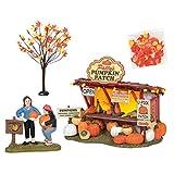 Department 56 Snow Village Halloween Patty - Figura decorativa de parche de calabaza, 4,7 pulgadas de altura
