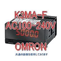 オムロン(OMRON) K3MA-F AC100-240V 回転・速度・流量指示/指示警報計 (回転パルス入力) NN