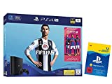 PlayStation 4 Pro - Konsole (1TB) inkl. FIFA 19 + 1 DualShock 4 Controller + PlayStation Plus 12 Monate Bundle