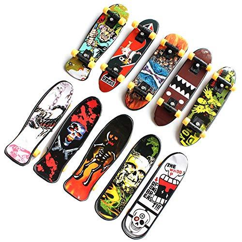 Finger Skateboard 12pcs Professionelle Mini Fingerboards Skatepark Spielzeug Ideal Für Weihnachten Mitgebsel, Kleinspielzeug Mix Beutel Kindergeburtstag, Party Favours