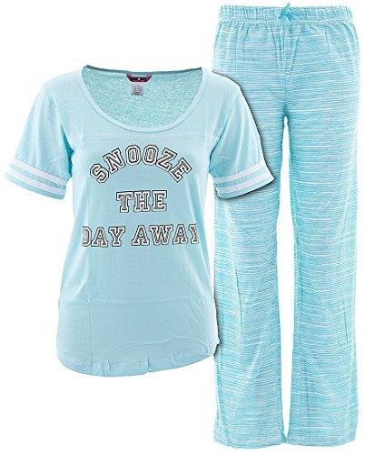 Glam Jamz Juniors Snooze The Day Away Pajamas M