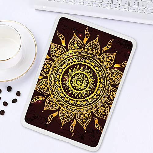 ghn Funda para tablet 3D pintada a mano para Amazon Kindle de 10ª generación 2019 de 6,0 pulgadas, carcasa de silicona suave de TPU para la parte trasera de la tableta (color: Z018)