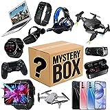 WEWQ Mystery Box Electronics Mystery Boxes Cumpleaños Aleatorio Caja de Sorpresa Caja Lucky Caja para Adultos Sorpresa Regalo, como Drones Smart Watches Gamepads Vacaciones