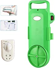 Mini Portable Washing Machine, Automatic Cloth Washer Machine Timing Power Wash 220V Timer Control for Dormitory Camping O...