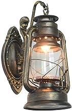 Wijn-industriële wandlamp met E27 titelschakelaar kerosine lamp in de wandlamp, wandlamp