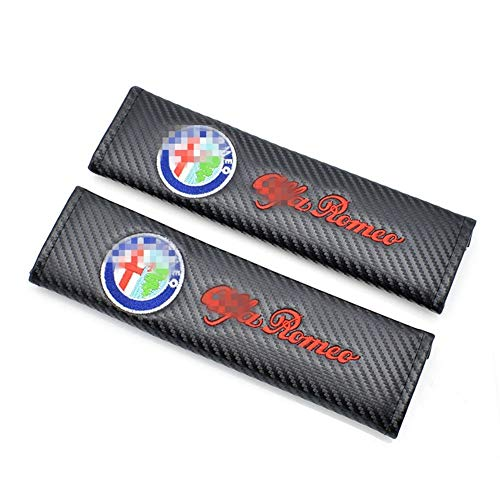 Mlzaq 2pcs Car Seat Belt Pads Seat Shoulder Strap Pad Cushion Cover For Lada Renault Opel Alfa Romeo Dacia Lifan Great Wall Ssangyong Color Name : For Dacia