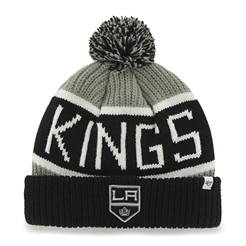 47 Brand Knit Beanie - Calgary Los Angeles Kings gris