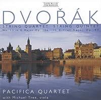 ドヴォルザーク:弦楽四重奏曲第13番/弦楽五重奏曲第3番