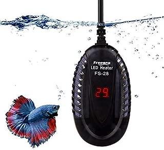 FREESEA Aquarium Fish Tank Submersible Heater with LED Temperature Display (75-200Watt)