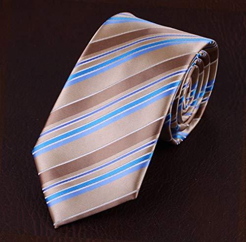 Cravates Homme,Cravate Bicolore Kaki Cravate De Travail Professionnelle Pour Hommes, Tenue De Soirée Professionnelle, Mémorisation De La Forme Pas Facile À Froisser, Pour Homme D'Affaires, Fête