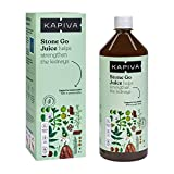 Kapiva Ayurveda 100% Organic Stone Go Juice Cleanses Kidney and Urinary Bladder - 1L