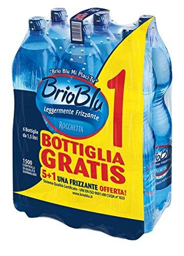 Rocchetta Acqua Brio Blu, 6 x 1.5L